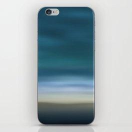 Dreamscape #7 blue-green iPhone Skin