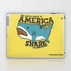 America…   it kinda looks like a shark or something Laptop & iPad Skin