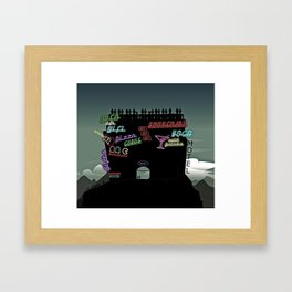 Mt. Everest Framed Art Print