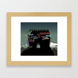 Mt. Everest Framed Art Print
