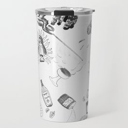 Mexican / Day of the Dead Pattern Travel Mug