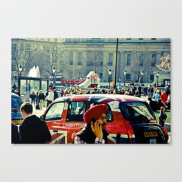 London's Call Canvas Print