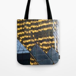 Manhattan Windows - Leopard Tote Bag