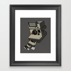 Cam-ception (continuous snapshot) Framed Art Print
