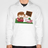 parks and rec Hoodies featuring South Parks and Rec by JVZ Designs