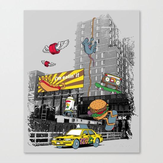 N Y C Canvas Print