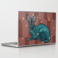 sphynx Laptop & iPad Skins featuring Sphynx by Illness