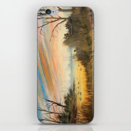 Evening Duck Hunters iPhone Skin