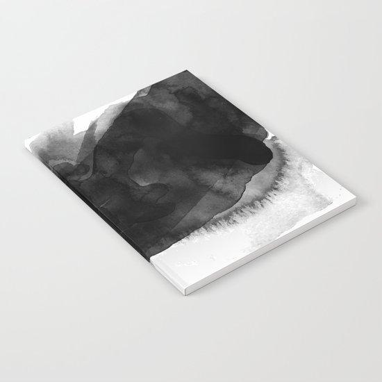Minimalist watercolor ink Notebook