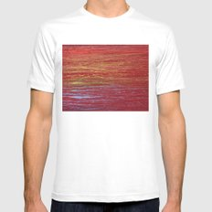 Rainbow for Abby White Mens Fitted Tee SMALL