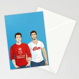 keep calm 01 Stationery Cards