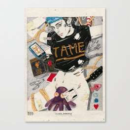 Social Bondage Canvas Print