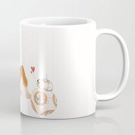Poe and BB-8 Coffee Mug