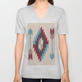 American Native Pattern No. 12 Unisex V-Neck