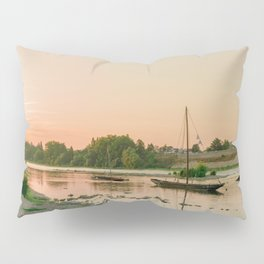 Floating The Loire Pillow Sham