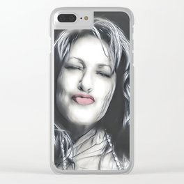 Lips - Graphic 3 Clear iPhone Case
