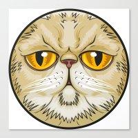 pooh Canvas Prints featuring Pooh Face by JoseMox Creador Gráfico