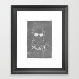 Bono Vox - 1, 2, 3, 14!? Framed Art Print