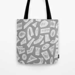 Cement Shapes Drawing Tote Bag