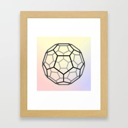 Bucky Ball Framed Art Print