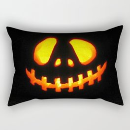 halloween trick or treat Rectangular Pillow