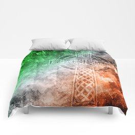 Irish Celtic Cross Comforters