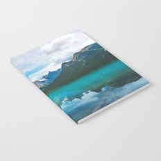 The Mountains and Blue Water Notebook