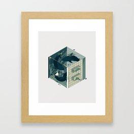 Cube 03 Framed Art Print