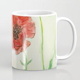 Soft Red Poppies Coffee Mug