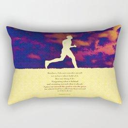 Press On! Rectangular Pillow