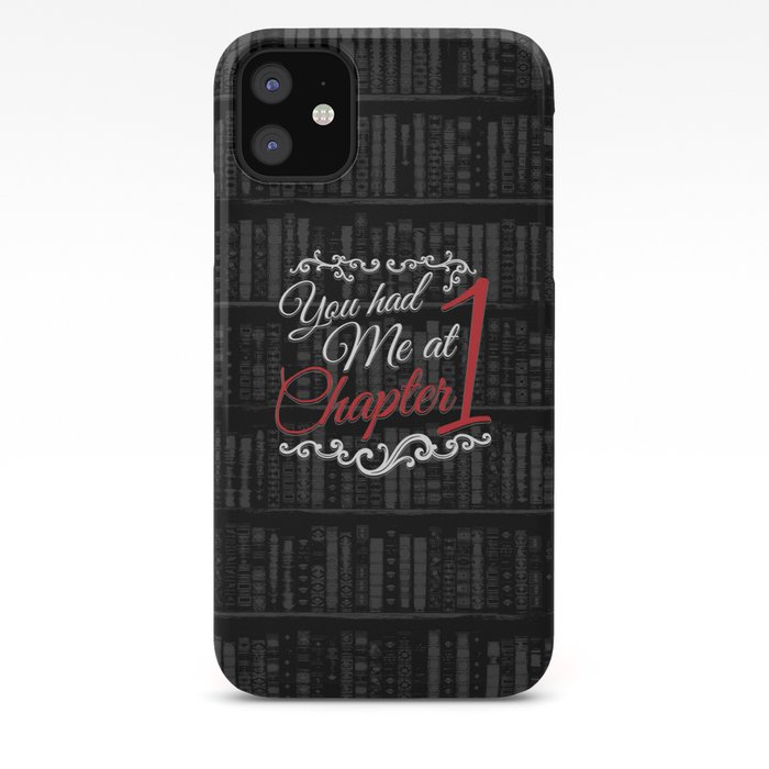 chapter one iphone 11 case