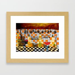 Ratatouille's Kitchen Framed Art Print