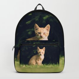 One Eyed Cat Backpack