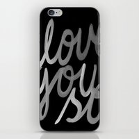 coldplay iPhone & iPod Skins featuring I Love You So by Cristallums