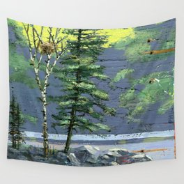 eagle's nest Wall Tapestry
