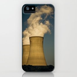 Toxic Towers iPhone Case