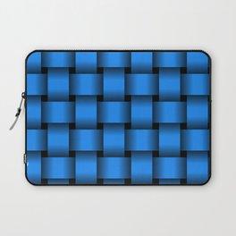 Large Dodger Blue Weave Laptop Sleeve