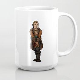 Strong female pose - Varric Coffee Mug