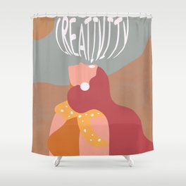 Open Your Eyes Shower Curtain