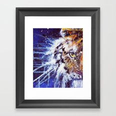 Tiger Painting Framed Art Print