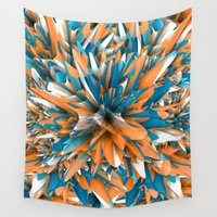 splash Wall Tapestries featuring Splash by Danny Ivan