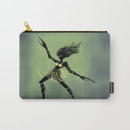 Creepy Midnight Dancing Girl Carry-All Pouch
