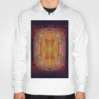 fractal Hoodies featuring Fractal by kira_komandrovskaya