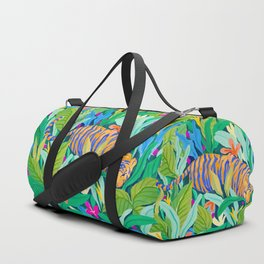 Colorful Jungle Duffle Bag