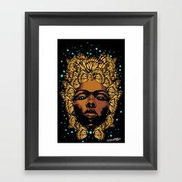 WILD SEED 3 Framed Art Print