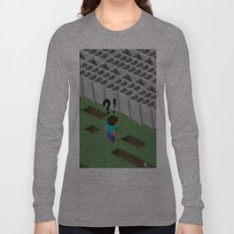 Mine craft reality Long Sleeve T-shirt