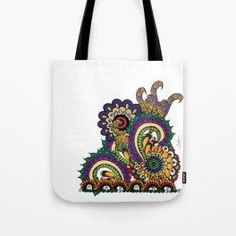 Hello 70s! Corally Tote Bag