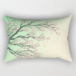 Sakura branch Rectangular Pillow
