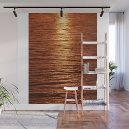 copper sea Wall Mural