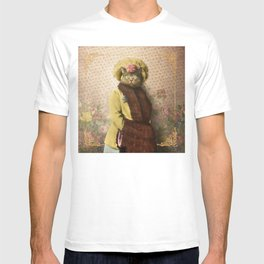 Lady Vanderkat with Roses T-shirt